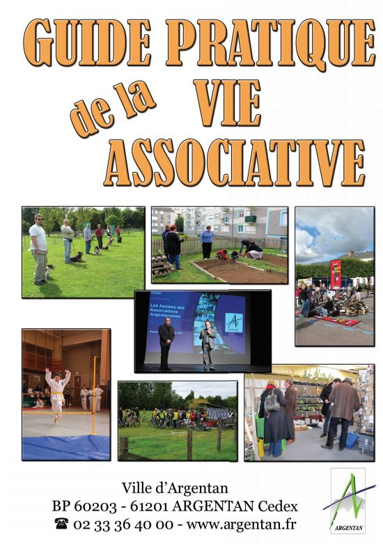 Couverture du guide de la vie associative
