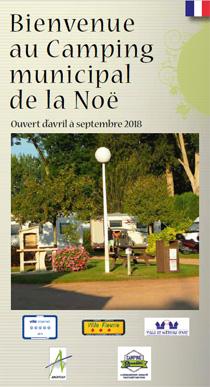 Couverture de la Brochure camping