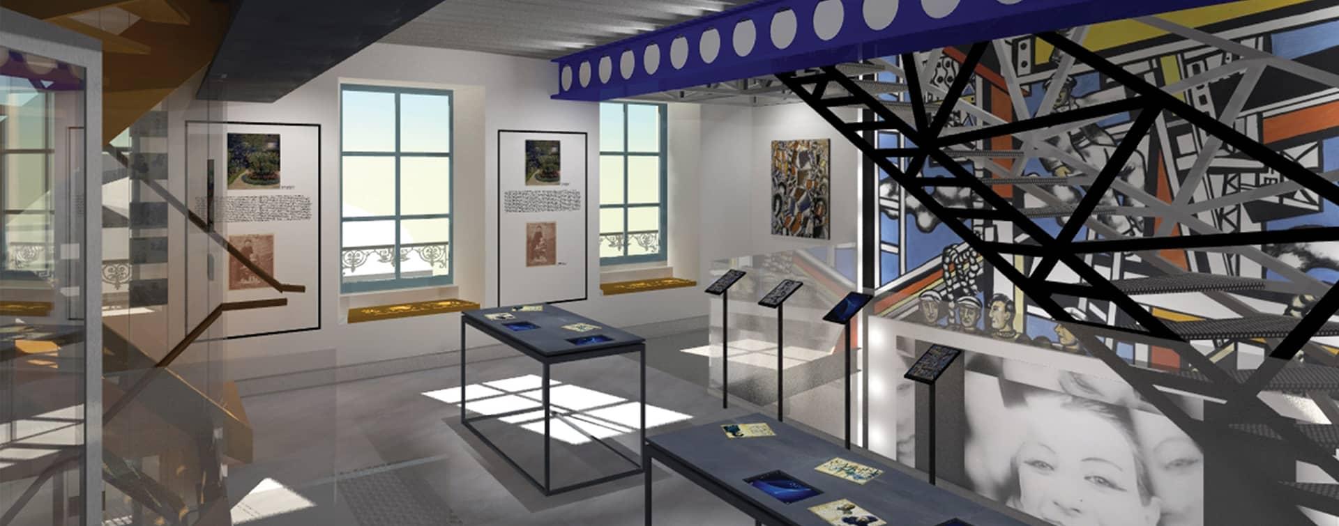 Musée Fernand Léger<br>- André Mare